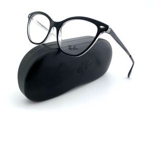 New Ray-Ban Frames Black Cat Eye Acetate RB5360